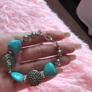💜free gift with purchase💜 Turquoise bracelet